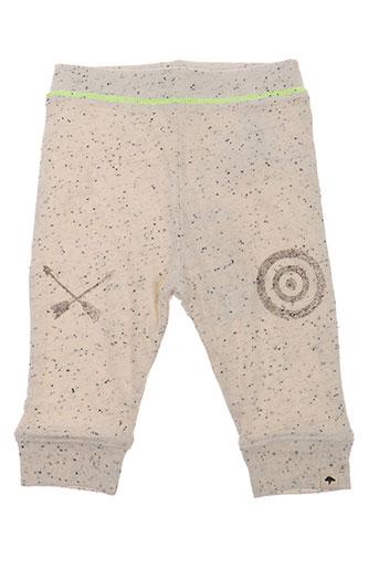 billybandit pantalons garçon de couleur beige