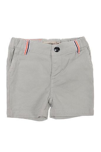 billybandit shorts / bermudas garçon de couleur gris