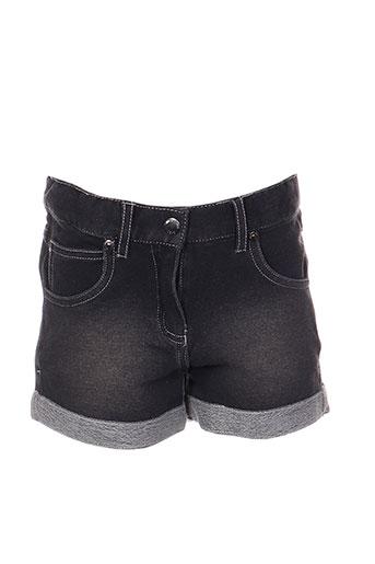 boboli shorts / bermudas fille de couleur noir