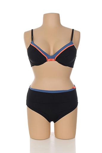 cherry beach maillots de bain femme de couleur noir