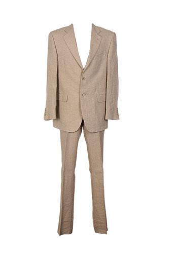 duca visconti costumes homme de couleur beige