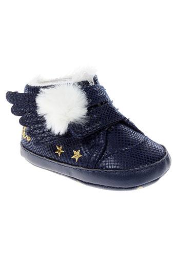 ikks chaussures garçon de couleur bleu