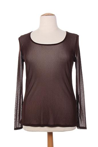 danny chemises femme de couleur marron