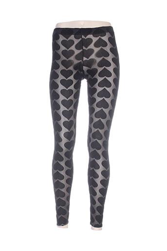 rinascimento pantalons femme de couleur noir