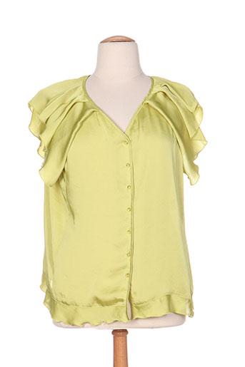 quattro chemises femme de couleur vert