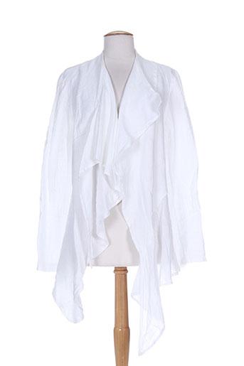 dudu vestes femme de couleur blanc