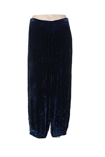 praechtig berlin pantalons femme de couleur bleu