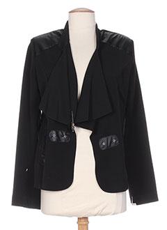 Veste casual noir BEVERLY pour femme