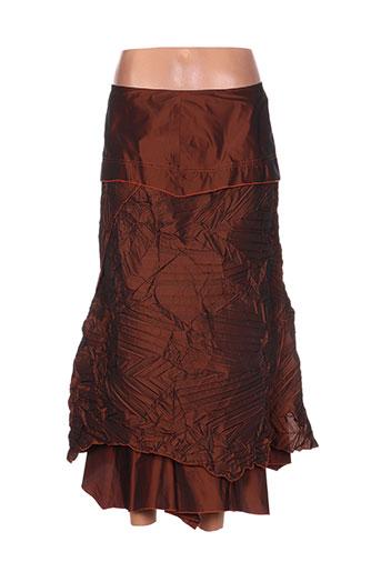 saona jupes femme de couleur marron