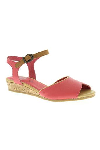 kickers chaussures femme de couleur rose