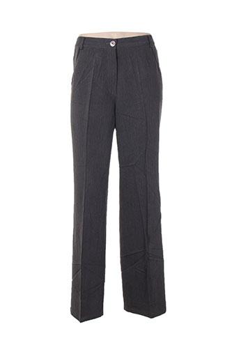 be the queen pantalons femme de couleur gris