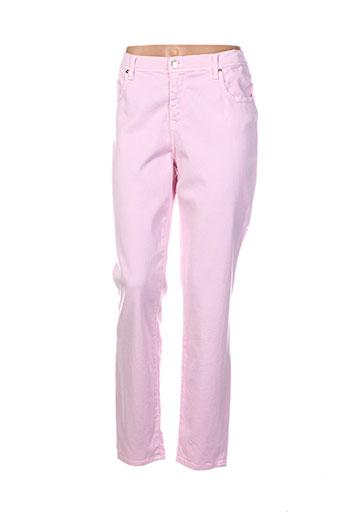 votre nom pantalons femme de couleur rose