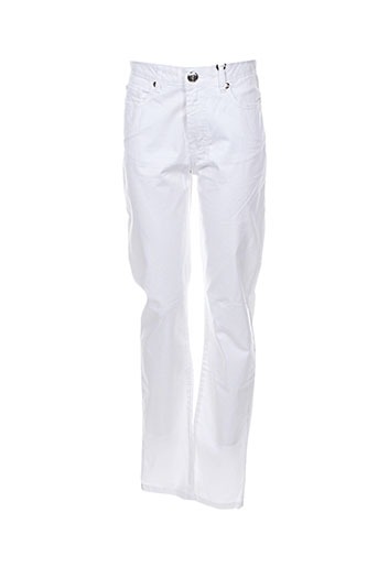 votre nom pantalons femme de couleur blanc