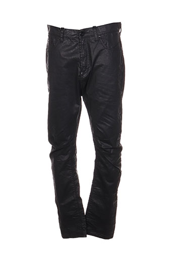 imperial pantalons homme de couleur noir