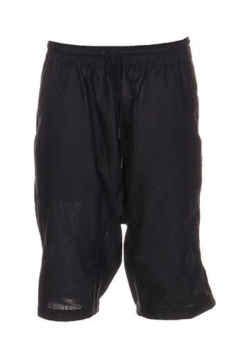religion shorts / bermudas homme de couleur noir