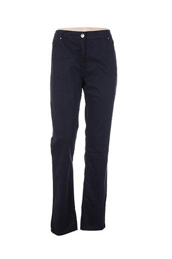voodoo pantalons femme de couleur bleu