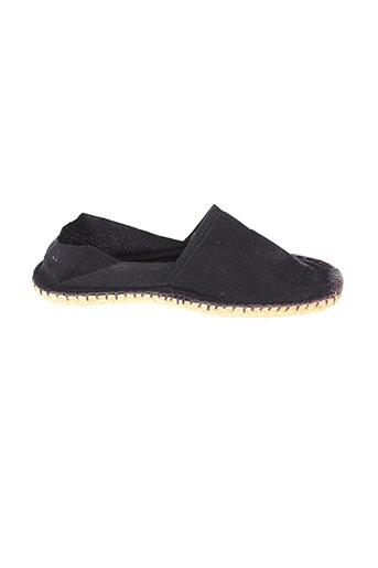 espadrilles chaussures homme de couleur noir