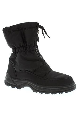 delta tex chaussures femme de couleur noir
