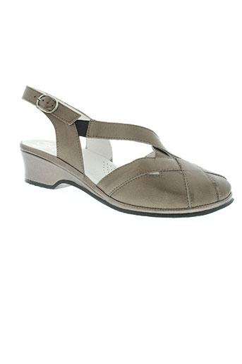 florett chaussures femme de couleur marron