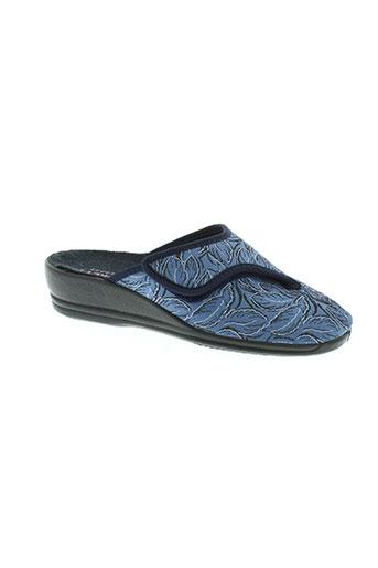 florett chaussures femme de couleur bleu