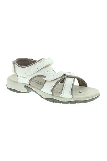mephisto chaussures femme de couleur blanc