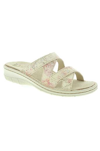 florett chaussures femme de couleur beige