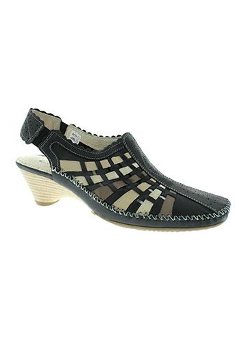 naturform chaussures femme de couleur noir