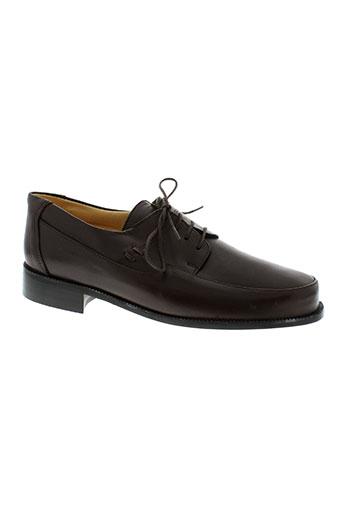 jean-charles dupin chaussures homme de couleur marron