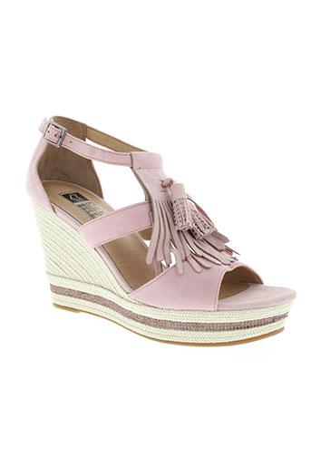 mam'zelle chaussures femme de couleur rose