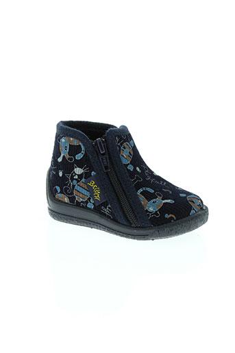 bellamy chaussures garçon de couleur bleu