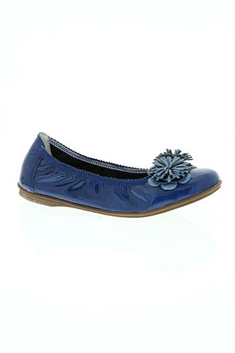 bellamy chaussures femme de couleur bleu