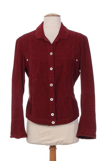 marithe EFFI_CHAR_1 francois girbaud vestes femme de couleur rouge