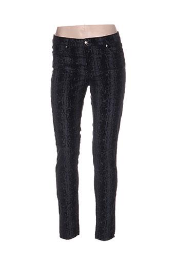 emma EFFI_CHAR_1 caro pantalons femme de couleur gris