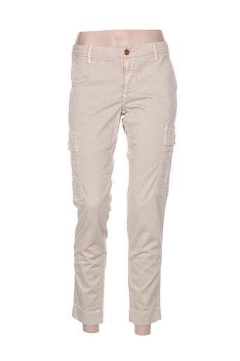 closed pantalons femme de couleur gris