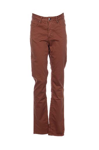 emma EFFI_CHAR_1 caro pantalons femme de couleur marron