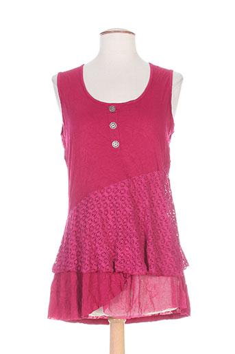 maloka chemises femme de couleur rose