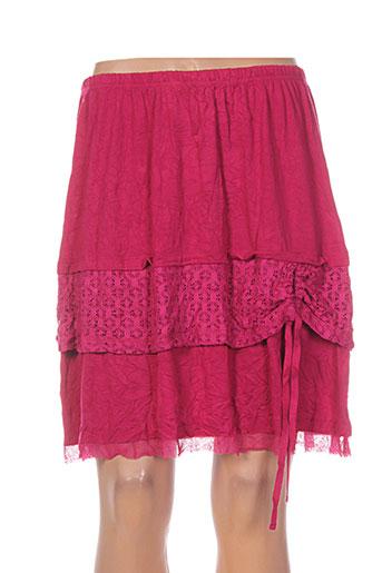 maloka jupes femme de couleur rose