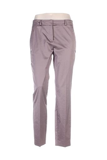 Pantalon casual marron COMMA, pour femme