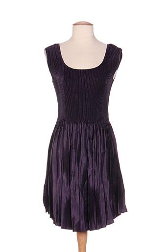 jolie mine robes femme de couleur violet