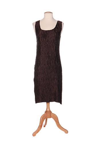 jolie mine robes femme de couleur marron