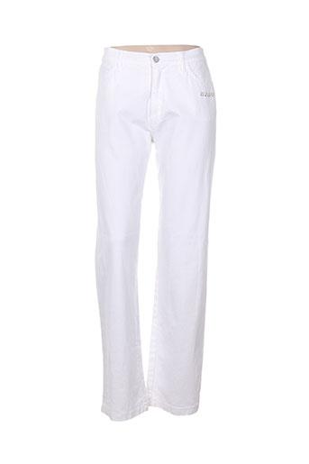 aquajeans jeans femme de couleur blanc
