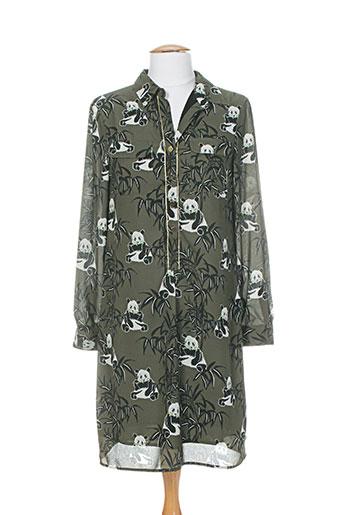 gaudi robes femme de couleur vert
