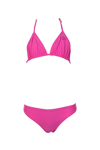beachwear maillots de bain fille de couleur rose