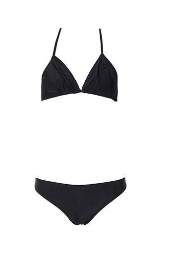 beachwear maillots de bain fille de couleur noir