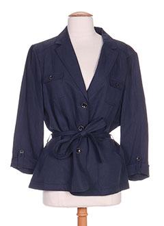 Veste casual bleu ANTONELLE pour femme