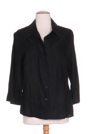 paz torras chemises femme de couleur noir