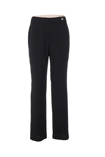 my way pantalons femme de couleur noir