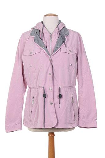 kirsten manteaux femme de couleur rose