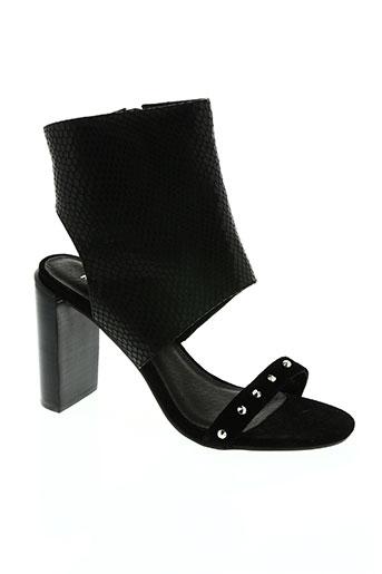morgan chaussures femme de couleur noir