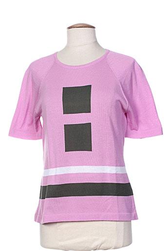 montagut pulls femme de couleur rose
